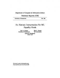 An Abstract Interpretation For ML Equality Kinds