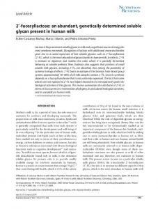an abundant, genetically determined soluble ... - Wiley Online Library