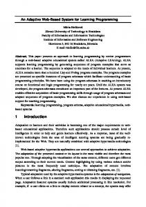 Affective Tutoring Systems In A Learning Social Semantic Scholar