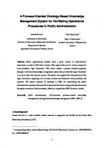 An Administrative - Knowledge Management System - LPIS