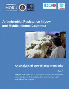 An analysis of Surveillance Networks Antimicrobial