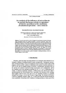 An analysis of the influence of microclimate on