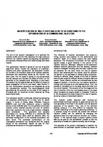 an application of multi-criteria genetic algorithms to the optimization of ...