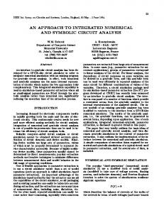 an approach to integrated numerical and symbolic