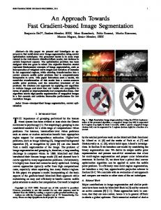 An Approach Towards Fast Gradient-based Image