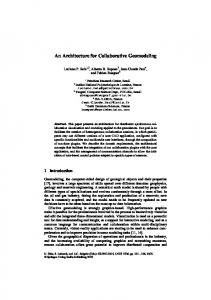 An Architecture for Collaborative Geomodeling - PUC-Rio