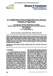 An Artificial Neural Network Based Short-term Dynamic Prediction of ...