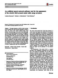 An artificial neural network software tool for the ... - Springer Link
