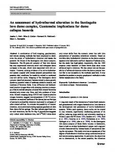 An assessment of hydrothermal alteration in the ... - Springer Link