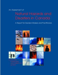 An Assessment of Natural Hazards and