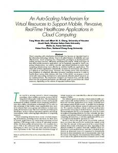 An Auto-Scaling Mechanism for Virtual Resources ... - Semantic Scholar