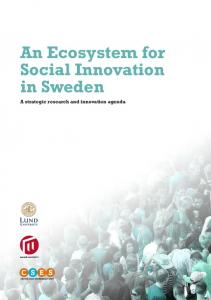 An Ecosystem for Social Innovation in Sweden
