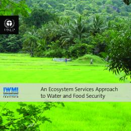 An Ecosystem Services Approach to Water and Food Security