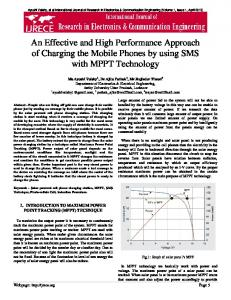 An Effective and High Performance Approach of
