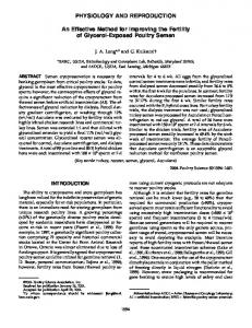 An Effective Method for Improving the Fertility of ... - Semantic Scholar