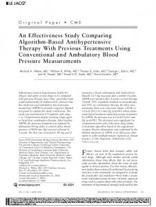 An Effectiveness Study Comparing ... - Wiley Online Library