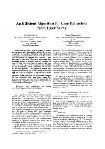 An Efficient Algorithm for Line Extraction from Laser ...