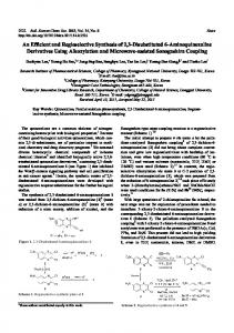 An Efficient and Regioselective Synthesis of 2,3-Disubstituted 6 ...