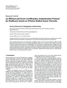 An Efficient and Secure Certificateless Authentication Protocol for ...