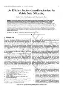 An Efficient Auction-based Mechanism for Mobile ... - Semantic Scholar