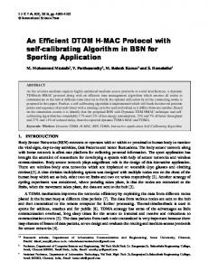 An Efficient DTDM H-MAC Protocol with self ...
