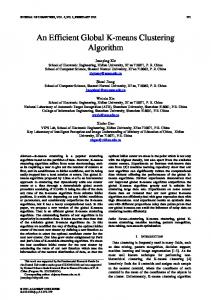 An Efficient Global K-means Clustering Algorithm - Semantic Scholar