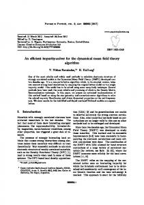 An efficient impurity-solver for the dynamical mean ... - SciELO Argentina