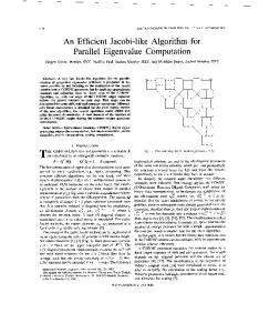 An efficient Jacobi-like algorithm for parallel ... - Semantic Scholar