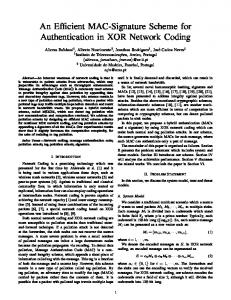 An Efficient MAC-Signature Scheme for Authentication ... - IEEE Xplore