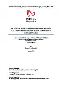 An Efficient Multichannel Wireless Sensor Networks MAC Protocol ...