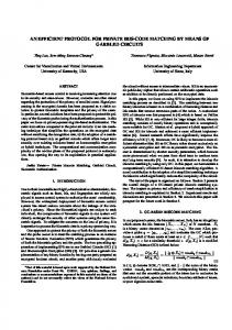 an efficient protocol for private iris-code matching ... - Semantic Scholar