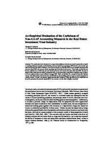 An Empirical Evaluation of the Usefulness of Non ... - Springer Link
