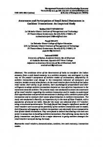 An Empirical Study - Management Dynamics in the Knowledge Economy