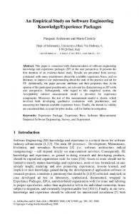 An Empirical Study on Software Engineering ... - Springer Link