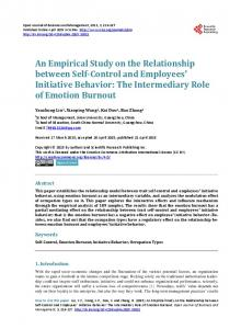 An Empirical Study on the Relationship between