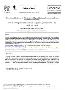 An Empirical Study - ScienceDirect