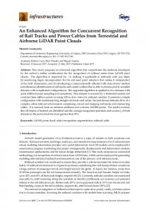 An Enhanced Algorithm for Concurrent Recognition of Rail ... - MDPI