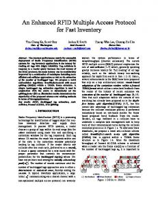 An Enhanced RFID Multiple Access Protocol for Fast Inventory