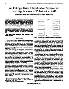 An Entropy Based Classification Scheme for Land ... - IEEE Xplore
