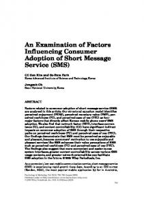 An examination of factors influencing consumer ... - Wiley Online Library