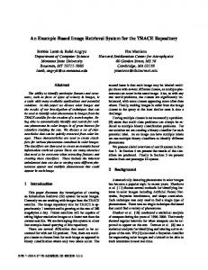 An Example Based Image Retrieval System for the ... - Semantic Scholar