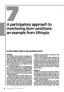an example from Ethiopia