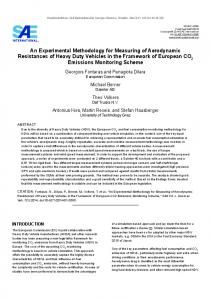 An Experimental Methodology for Measuring of