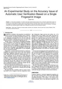 An Experimental Study on the Accuracy Issue of ... - Semantic Scholar
