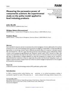 An experimental study on the polity model applied to ...