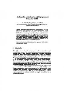An Extended Authentication and Key Agreement ... - Semantic Scholar