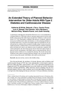 An Extended Theory of Planned Behavior ... - Semantic Scholar