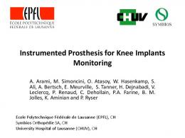 an implantable system for angles measurement in
