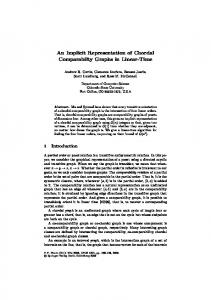An implicit representation of chordal comparability graphs in linear time