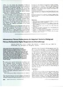 An Important Variant of Malignant Fibrous Histiocytoma Highly